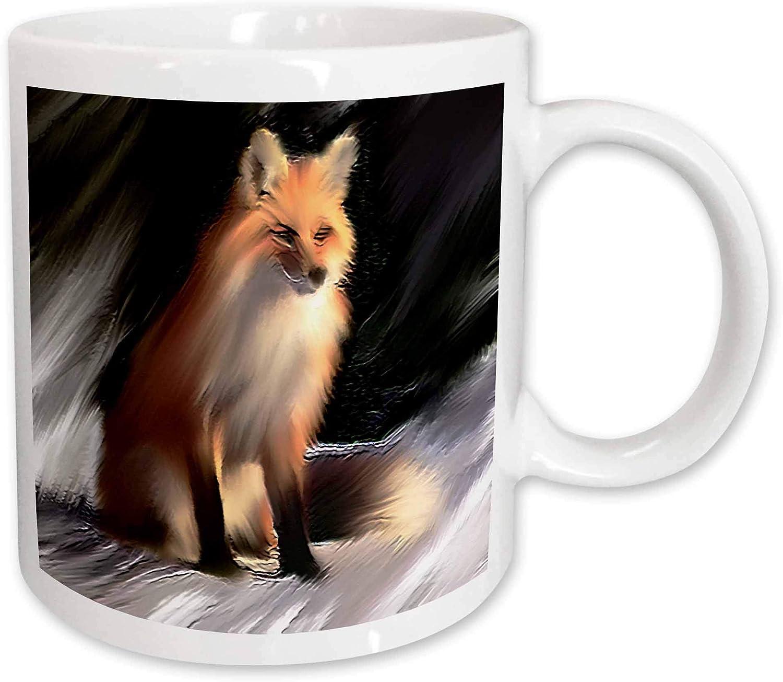 Coffee Mugs Home Kitchen 11 Ounce 3drose Shikara Siberian Tiger Mug