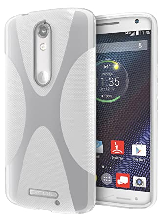 DROID Turbo 2 Case, Cimo [X] Premium Slim TPU Flexible Soft Case for