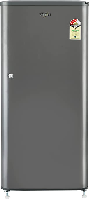Whirlpool 190 L 3 Star Direct Cool Single Door Refrigerator WDE 205 CLS 3S GREY E, Grey  Refrigerators