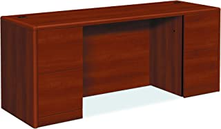 product image for HON 10741CO 10700 Kneespace Credenza, Full Height Pedestals, 72w x 24d x 29 1/2h, Cognac