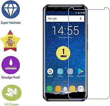 im77r Protector DE Pantalla Premium Cristal Templado 9H para OUKITEL K5000: Amazon.es: Electrónica