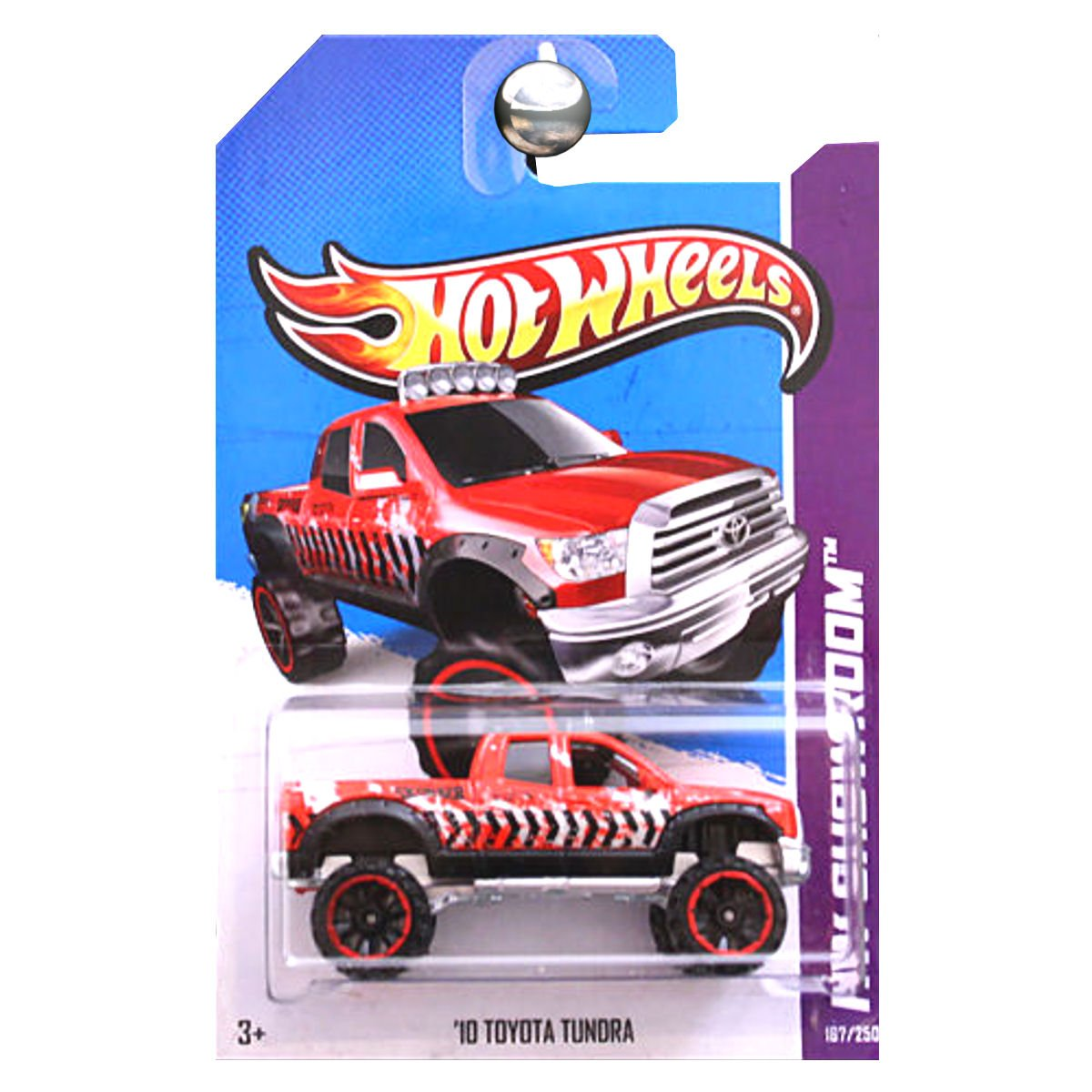 Hot Wheels 2013 HW Showroom '10 Toyota Tundra Truck Rojo