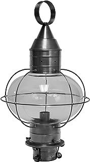 product image for Brass Traditions 610-GM Large Onion Post Lantern, Gun Metal Finish Onion Post Lantern