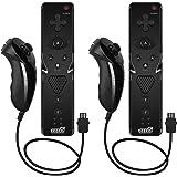 EEEKit Combo Set Combo per telecomando e Nunchuk da 2 pacchi con cinturino per Nintendo Wii/Wii U/Wii mini