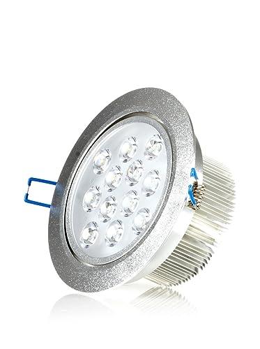 Hispania Empotrable LED de techo 12W de consumo | 950 lumens, luz fría 6000K
