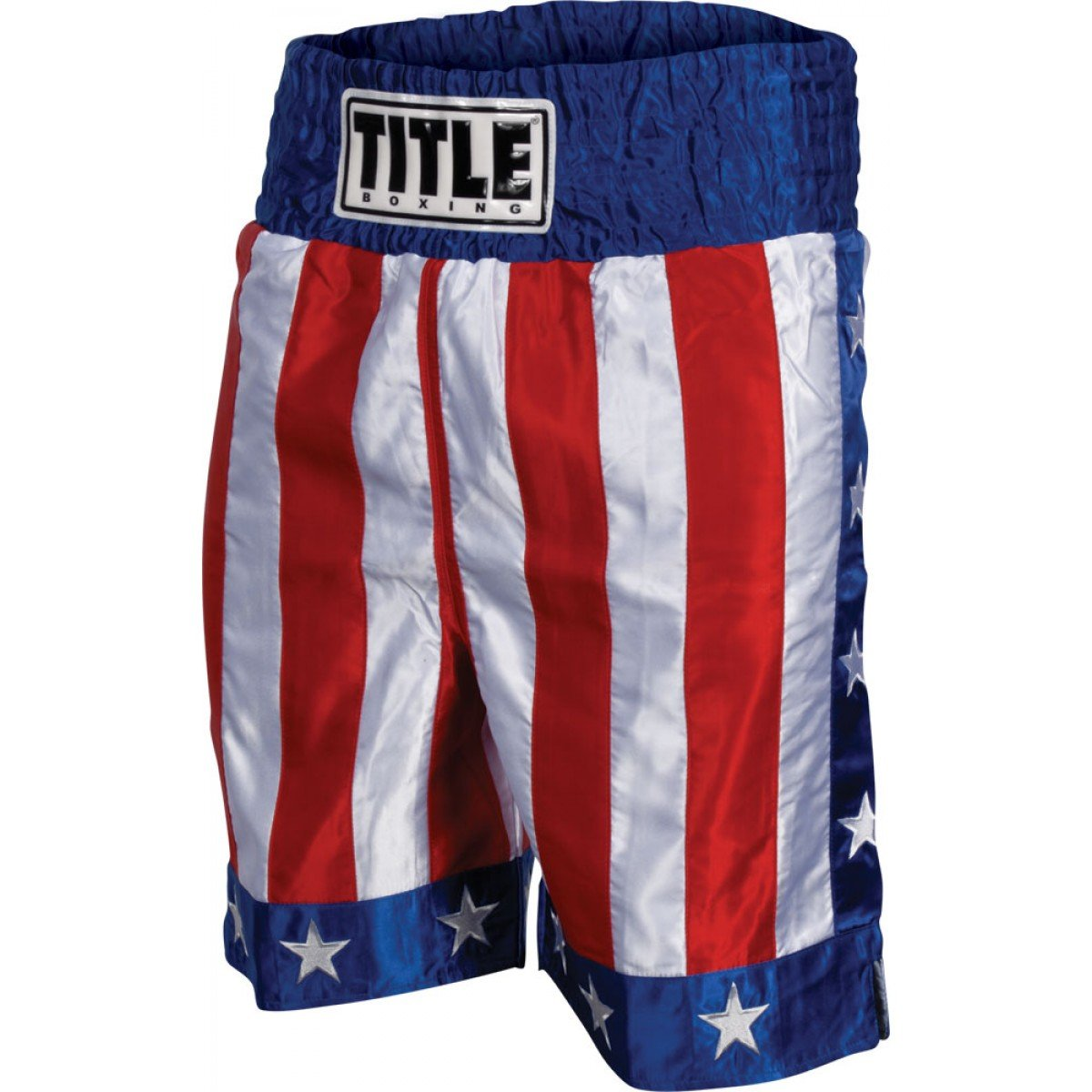 Title Boxing TITLE American Flag Boxing Trunks