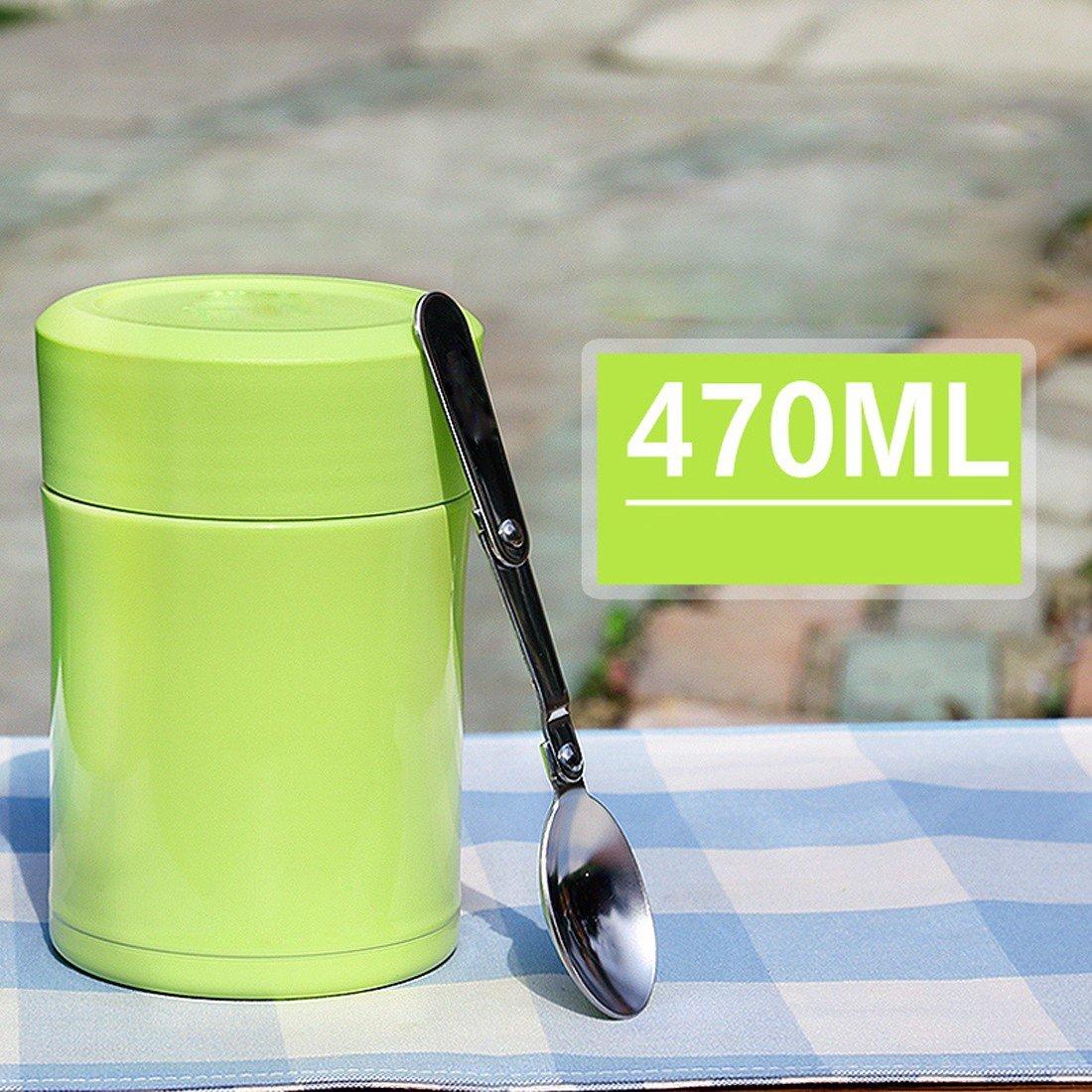 MDRW-Thermoskanne, schwelen Topf, verstopfte Becher,Fluoreszierend grün