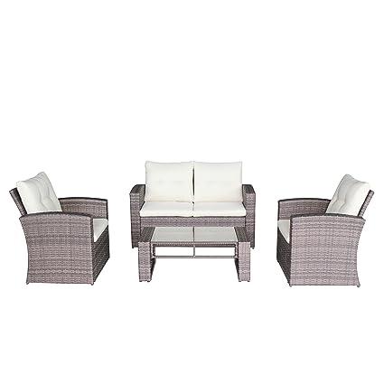amazon com azure sky asn88 complete patio outdoor furniture grey rh amazon com patio door furniture uk patio door furniture accessories