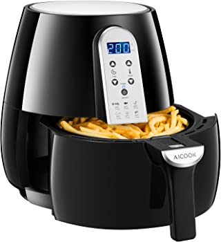 Aicook 3.4Qt Touchscreen LCD 1500W Digital Air Fryer