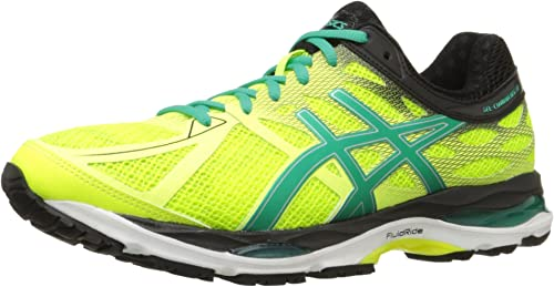 Details about Mens Asics Gel Cumulus 11 Silver Black Yellow Running Shoes, Size 8.5
