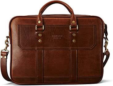 J.W Hulme Fremont Business Leather Briefcase and Organizer 80e480f32686e