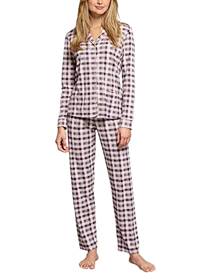 2646e07973e9d7 Schiesser Women's Selected Premium Pyjama Lang Sets,  Multicoloured-Mehrfarbig (Multicolor 1 904)