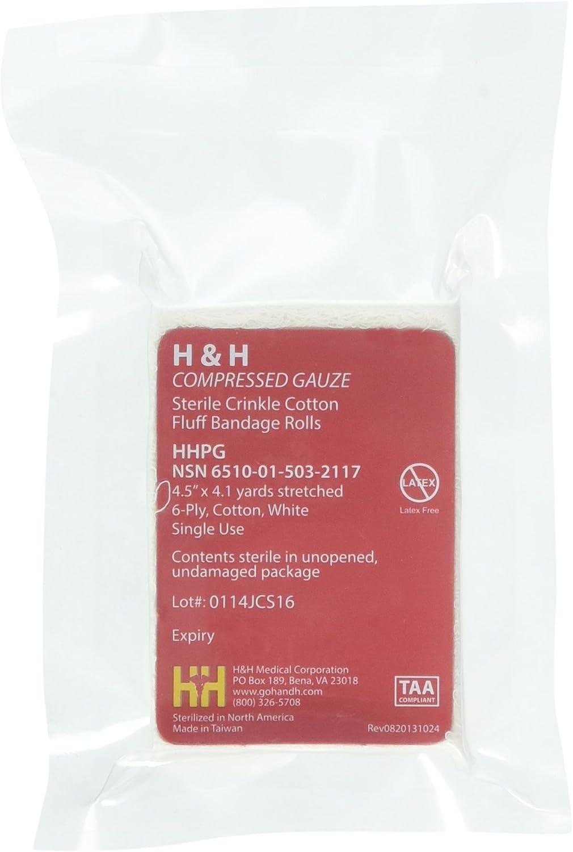 H&H Primed Compressed Gauze
