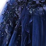 LZH Girls Wedding Dress Princess Pageant Embroidery