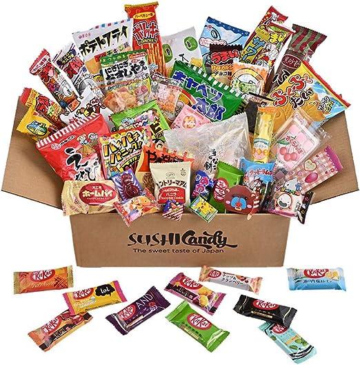 50 dulces japoneses, surtido de kitkat japonés (10 piezas) y otros dulces y bocadillos populares, chocolate japonés: Amazon.es: Alimentación y bebidas
