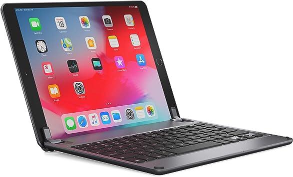 Teclado inalámbrico Brydge 10.5, Compatible con iPad Air de 3ª generación y iPad Pro de 10,5 Pulgadas Distribución QWERTZ en alemán