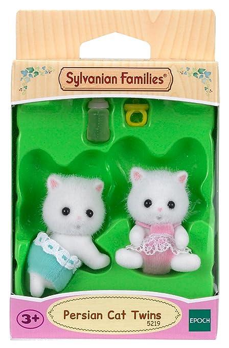 SYLVANIAN FAMILIES Gemelos Gatos persas Epoch para Imaginar 5219: Amazon.es: Juguetes y juegos