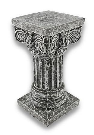 Solid Concrete Roman Pillar Mini Statue Pedestal