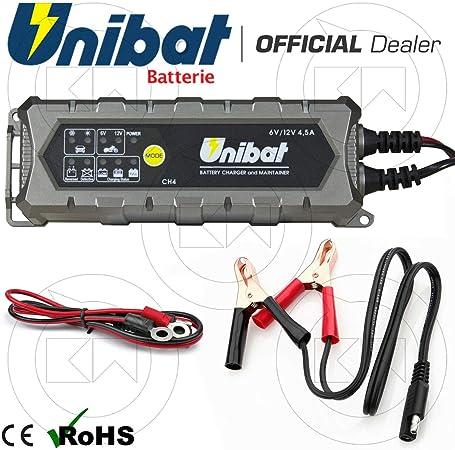 tidystore Caricabatteria per batterie Caricabatterie per motocicli Caricabatteria per Auto Completamente Intelligente Caricabatterie per Caricabatterie Universale
