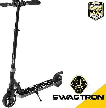 Amazon.com: Swagtron Swagger 8 - Patinete eléctrico plegable ...