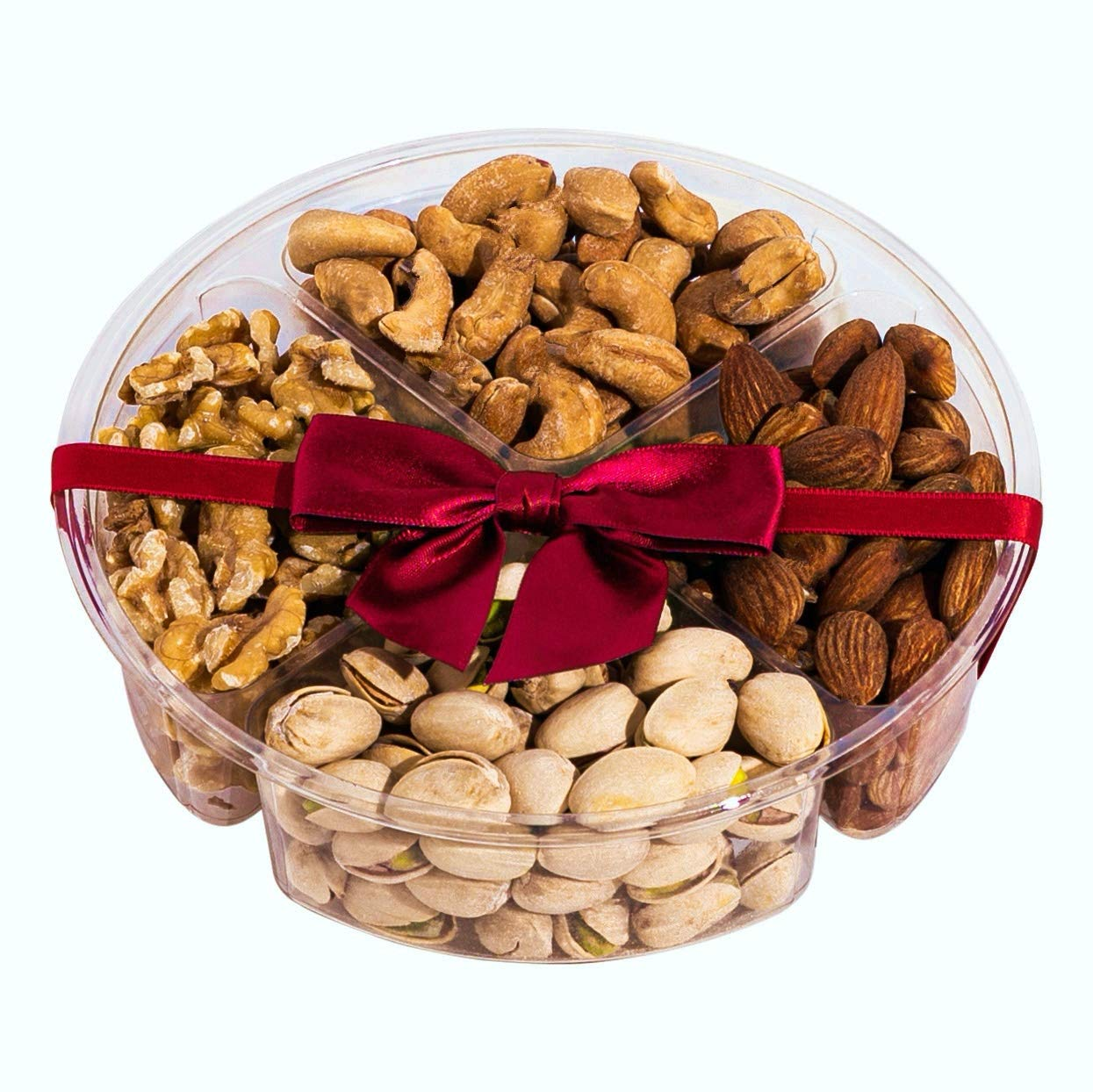 Simple Nuts Holiday Gift Baskets | Assorted Nuts Care Package, Ultra Fresh Nuts, Never Stale | Gourmet Food Snack Gift for Holidays, Christmas, Get Well Soon, New Year's & More | Fast, Secure Shipping