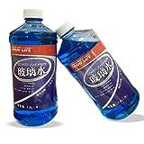 GREAT LIFE 玻璃水特效除虫渍玻璃水汽车挡风玻璃清洁剂 1.8L 2瓶装