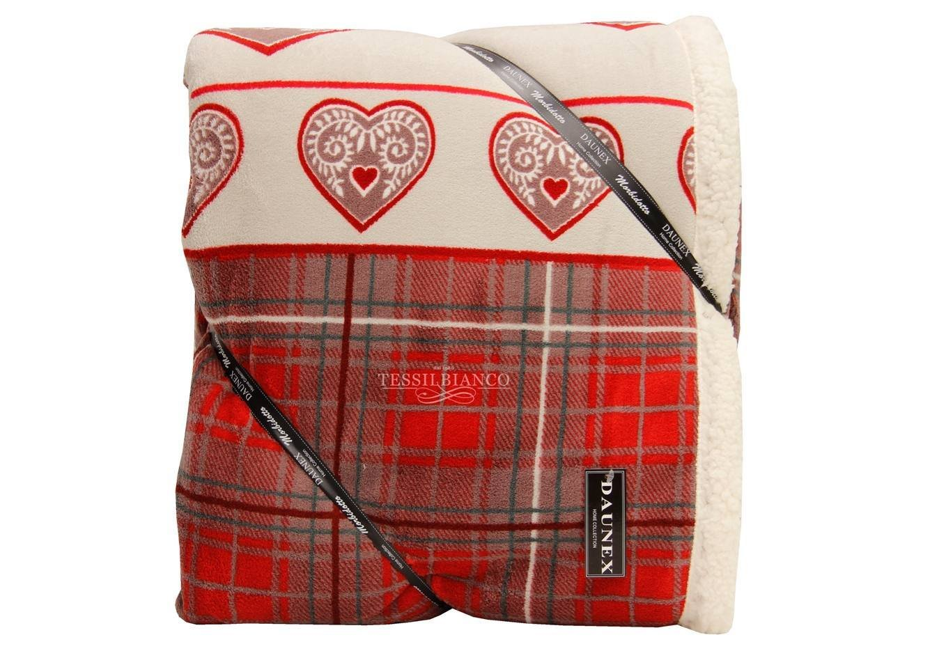 Daunex Plaid Morbidotto Gressoney - 210 x 250 cm