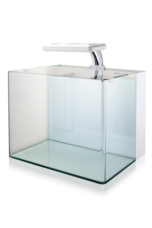 Nuvo Aquarium Mini 38 White Tank