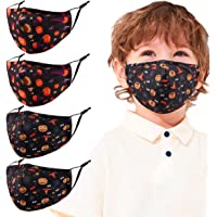 4 Pcs Kids Reusable Adjustable Face Mask. Gifts for Girls Boys