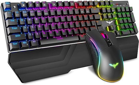 Stick core Waterproof 108-key Backlit Keyboard Enjoy Comfortably. Color : Black Hongyushanghang Mechanical Keyboard Black Green Axis Gaming Keyboard