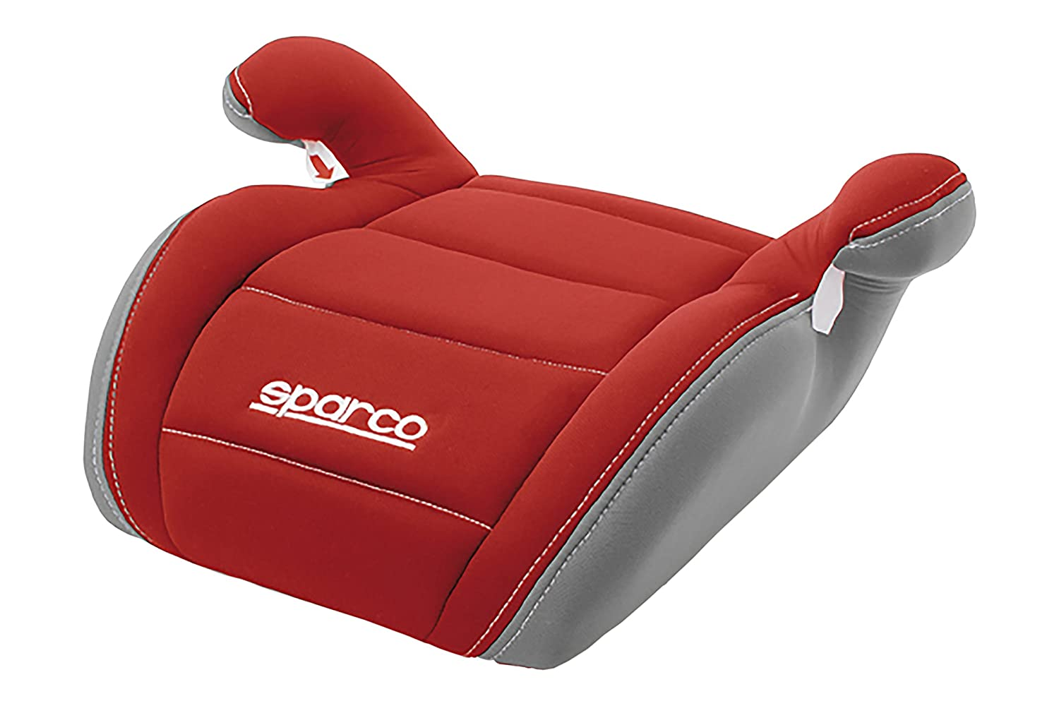 Red Sparco SPC3002RS3CM Booster Sitz f/ür Kinder Gruppe III Rot//Grau 3Cm