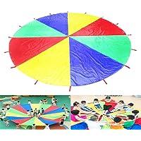 Sipobuy Play Tents Kids Juego Jugar Parachute 12