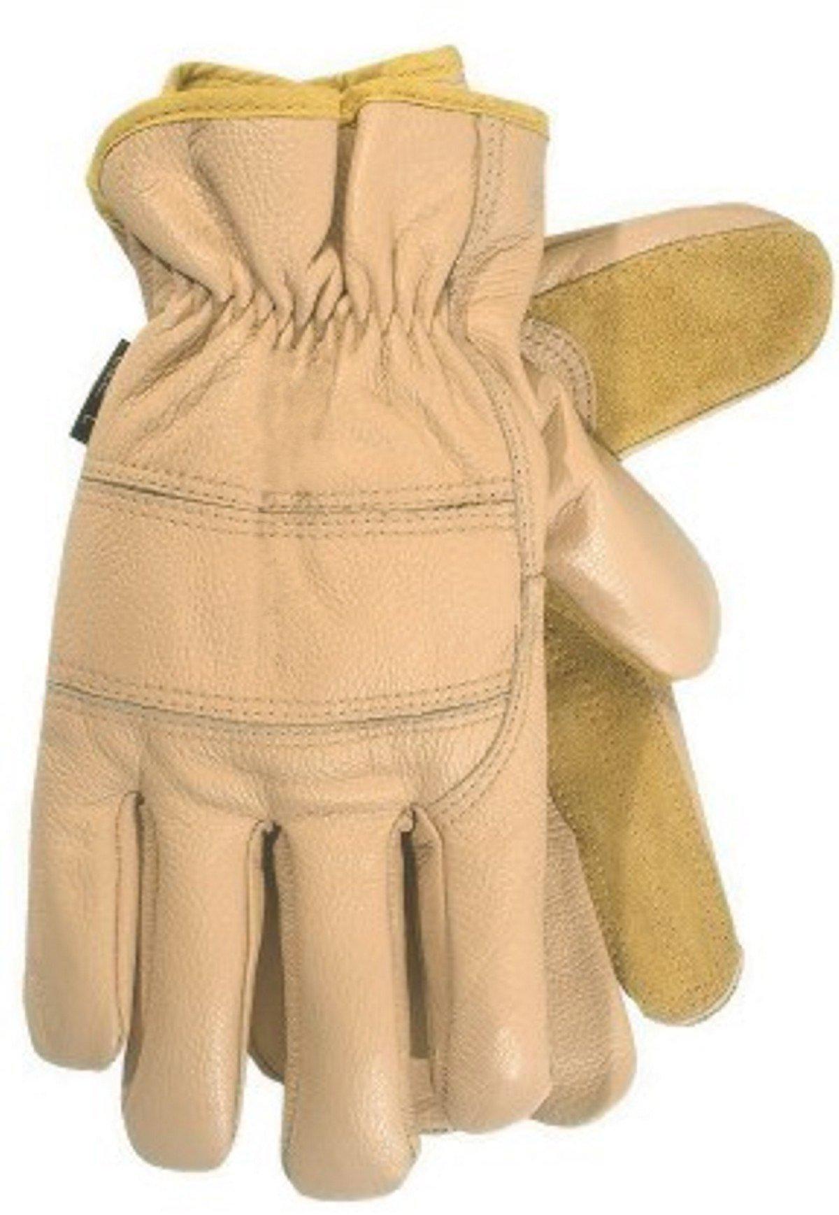 Carolina Gloves Summer Desert Moisture Resistant Cold Weather Leather Glove, Large