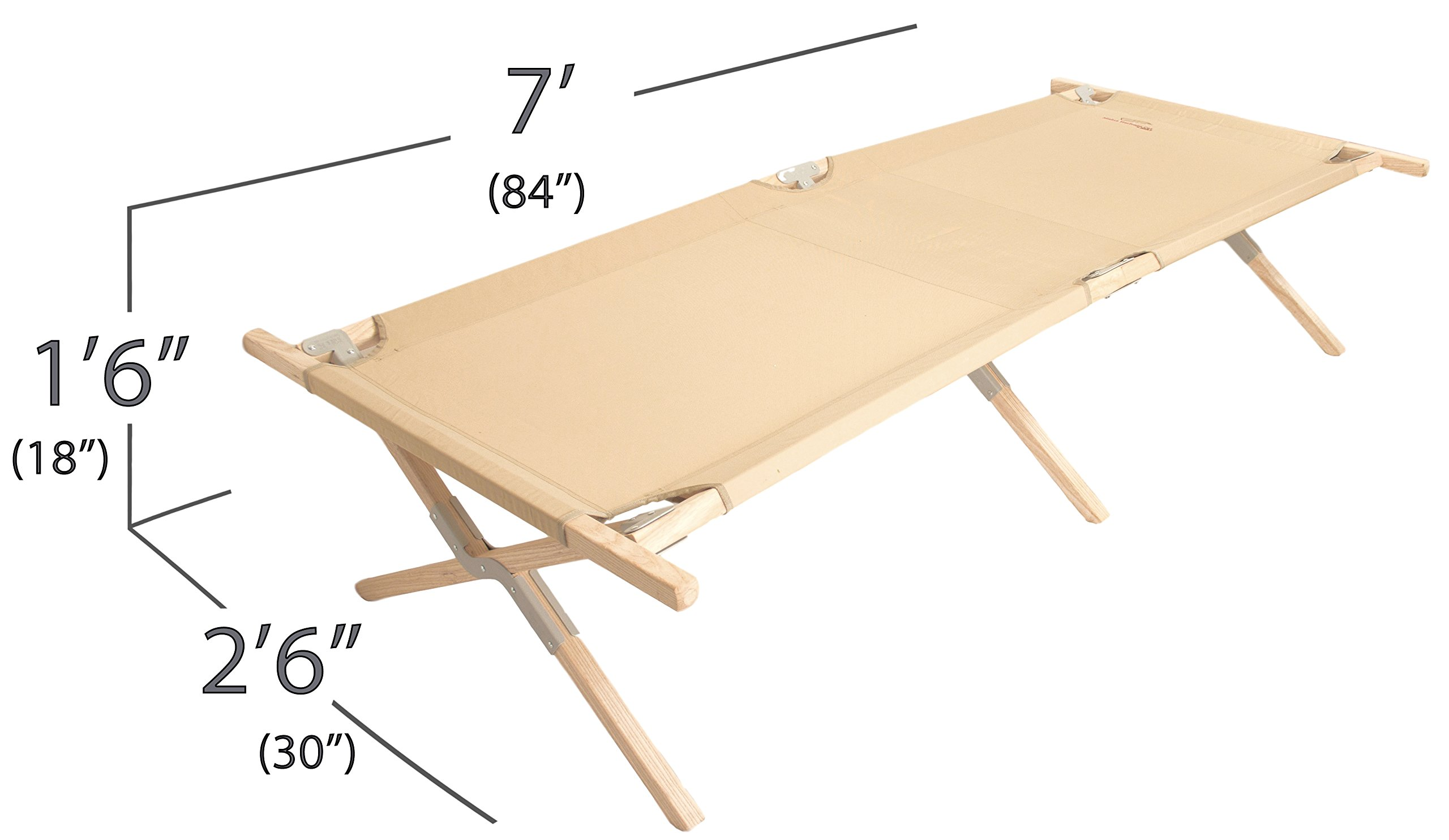 Maine Heritage Cot, folding cot by Byer of Maine by Byer of Maine (Image #6)