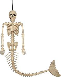 Crazy Bonez Skeleton Mermaid