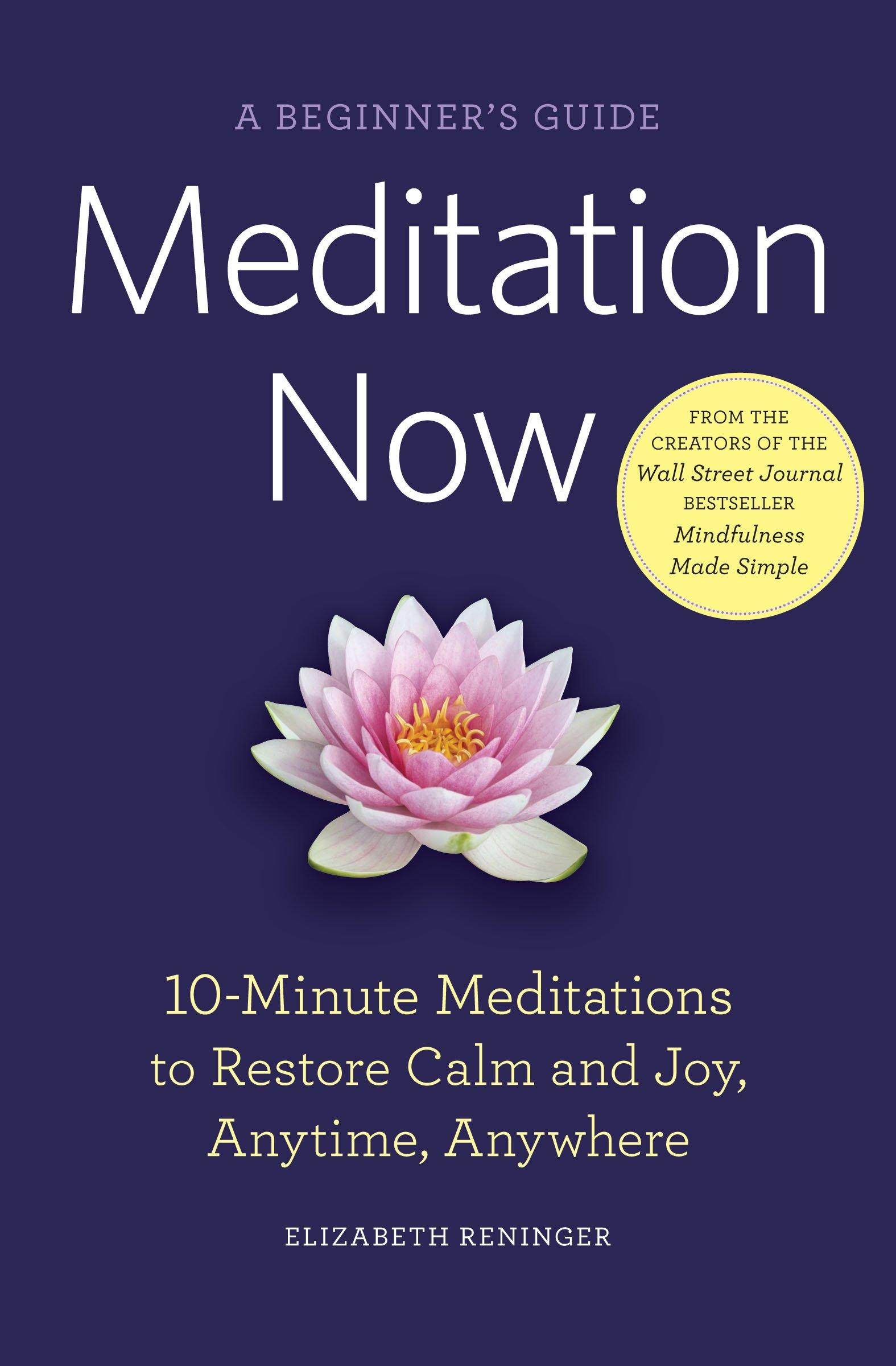 Meditation Now Beginners Elizabeth Reninger product image