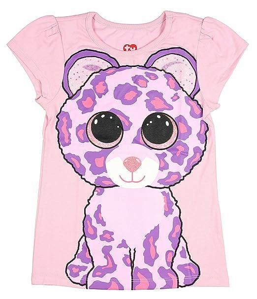 00fcec16035 TY Beanie Boo Girls  Glamour The Leopard T-Shirt (Medium