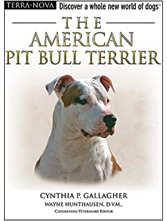 the american pit bull terrier handbook barron s pet handbooks joe