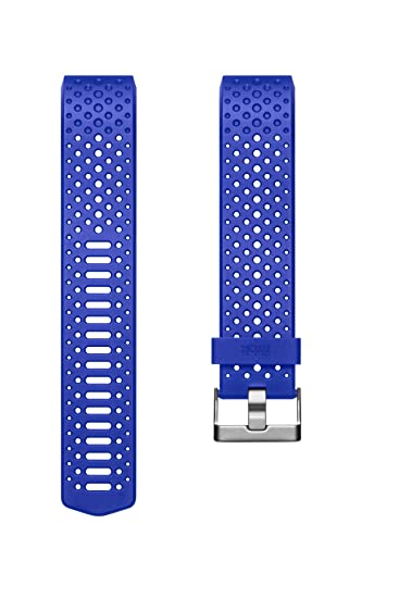 Fitbit Charge 2 Accessory Sport Band, Blue, Large