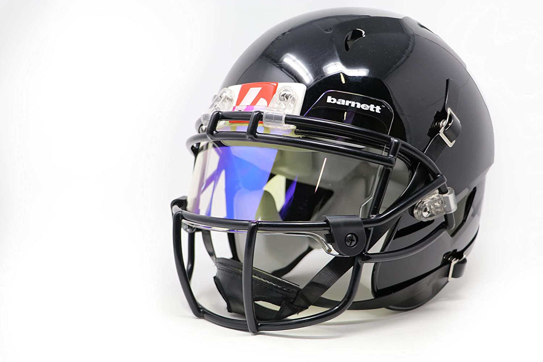 92e1c36df3c3 Barnett football eyeshield visor revo blue eyes shield sports outdoors jpg  1500x1000 Tinted oakley visor clip