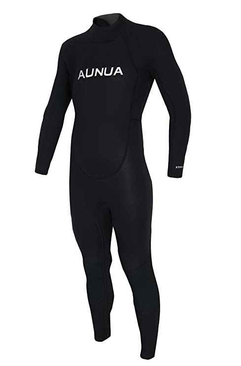 dca28210772 Aunua Youth 3/2mm Neoprene Wetsuits for Kids Full Wetsuit Swimming Suit  Keep Warm(