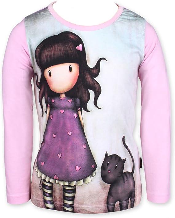 Gorgjuss Santoro - Camiseta de Manga Larga - para niña: Amazon.es: Ropa y accesorios