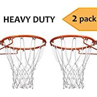 Esther Belleza Heavy Duty Baloncesto Net Professional all-weather exterior & interior 12 Loops Net