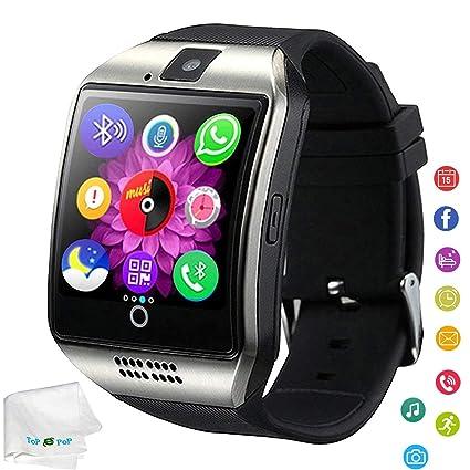 Amazon.com: Reloj inteligente Bluetooth con podómetro ...
