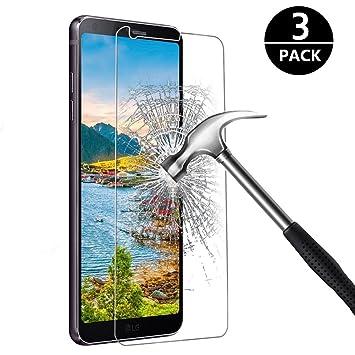 [3-Pack] LG G6 Cristal Templado Protector de Pantalla, Nazzamo LG G6