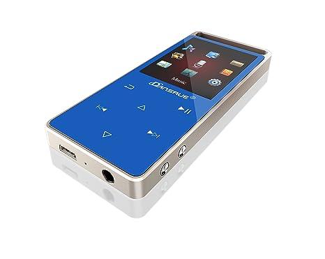 dansrue MP3 reproductor de música con Radio FM, grabadora de ...