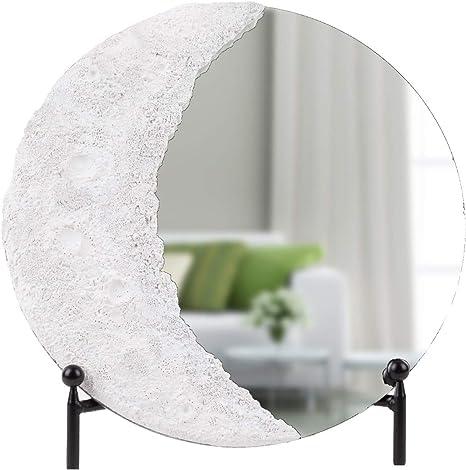 Mirror Crescent Decorative panel