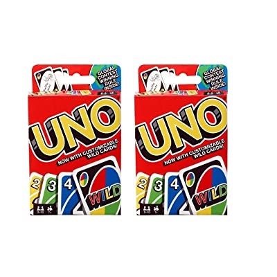 UNO Card Game … (2 Pack): Toys & Games