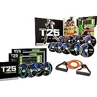ZONEV Shaun T's T25 Home Fitness DVD Workout Programma 14 DVD met weerstandsbanden en voedingsgids cardio Indoor fitness…