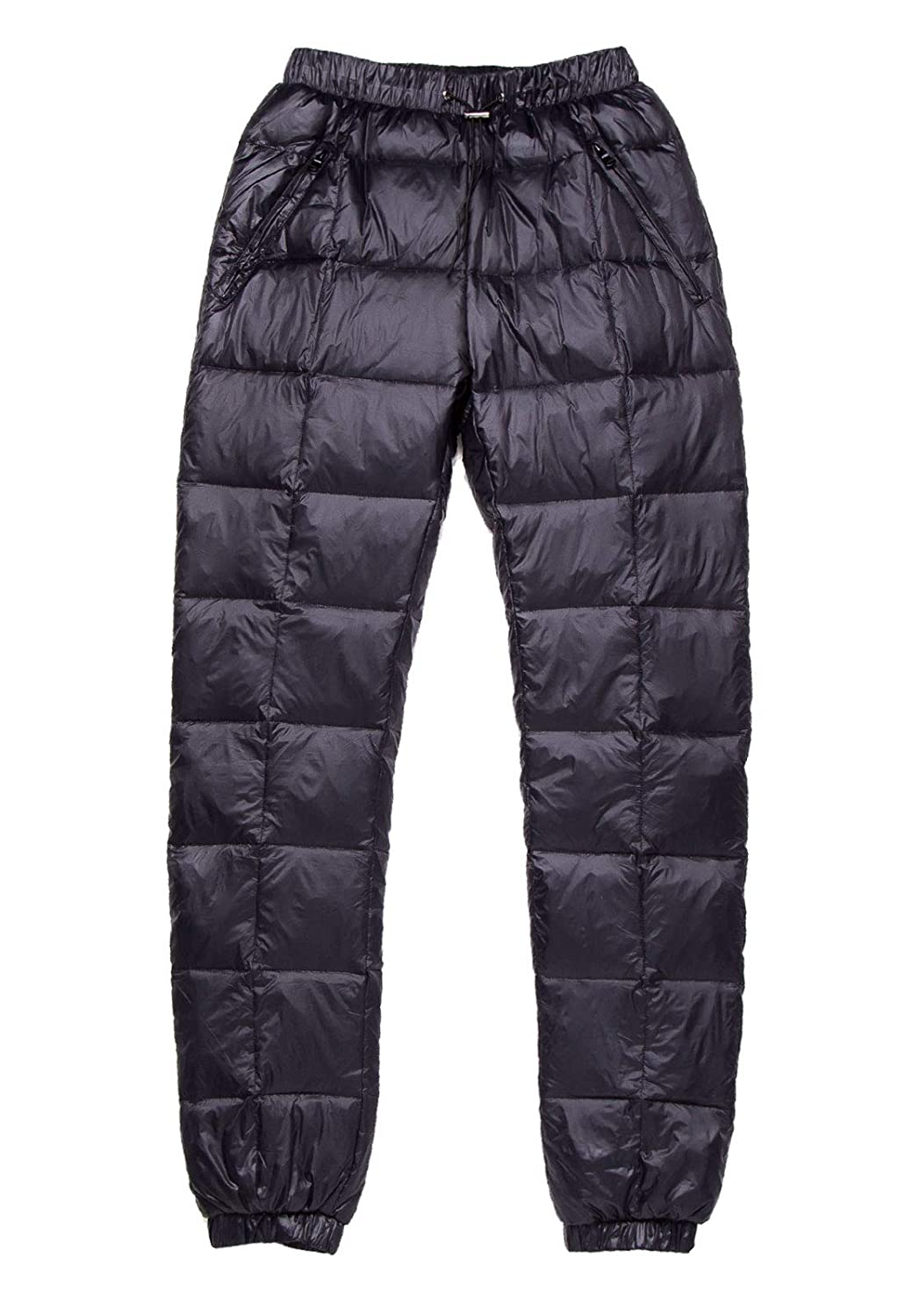 Flygo Womens Packable Winter Warm Snow Pants Utility Compression Down Pant Trousers